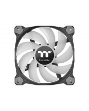Thermaltake Pure Plus 12 LED RGB Radiator Fan TT Premium Edition Gehäuselüfter 120 mm Packung mit 3 (CL-F063-PL12SW-A)