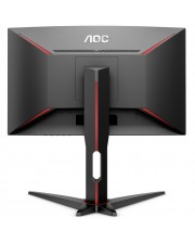"AOC Gaming LED-Monitor gebogen 61 cm 24"" 1920 x 1080 Full HD VA 1 ms EEK: A"