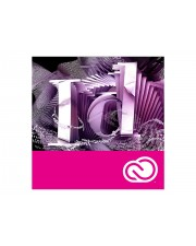 Adobe InDesign CC team VIP COM Software RNW , Lizenzstaffel 1-9 User, 12 Monate (65297560BA01A12)