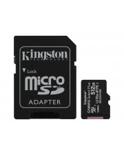 Kingston 512GB micSDXC Canvas Select Plus 100R A1 C10 Card+ ADP Extended Capacity SD MicroSDHC 512 GB