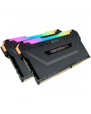 Corsair VENGEANCE RGB PRO DDR4 3600MHz 32GB 2x16GB AMD Optimized L1099446VENGEANCE Optimized288 Pin DIMM / 18CL / 1.35V / Intel XMP 2.0 / Anodized Aluminum HeatspreaderCMW32GX4M2Z3600C18