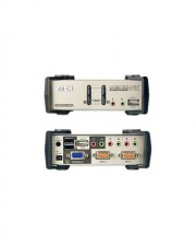 ATEN MasterView KVMP Switch KVM-/Audio-/USB Switch 2 x KVM/Audio/USB, 1 lokaler Benutzer, Desktop