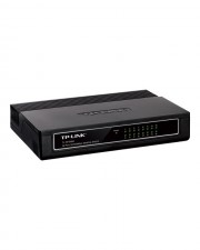 TP-LINK Switch 16-Port 10/100Mbps Fast Ethernet Vollduplex-fähig Desktop (TL-SF1016D)