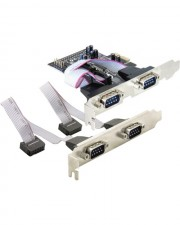 Delock 4 x serial PCI Express Card Serieller Adapter PCIe