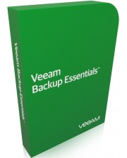 Veeam Backup Essentials Enterprise Bundle VMware 2 CPU, inkl. 1 Jahr Maint. Download Lizenz, Multilingual