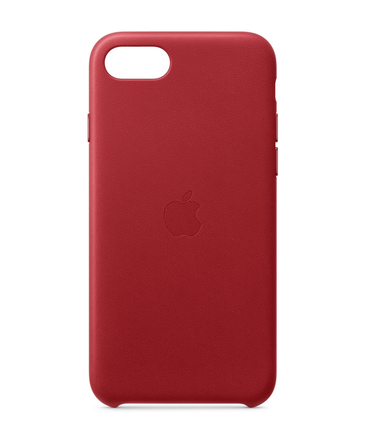 Apple iPhone SE Leather Case Product RED Rot