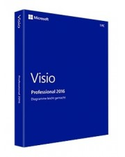 Microsoft Visio 2016 Professional PKC, Englisch