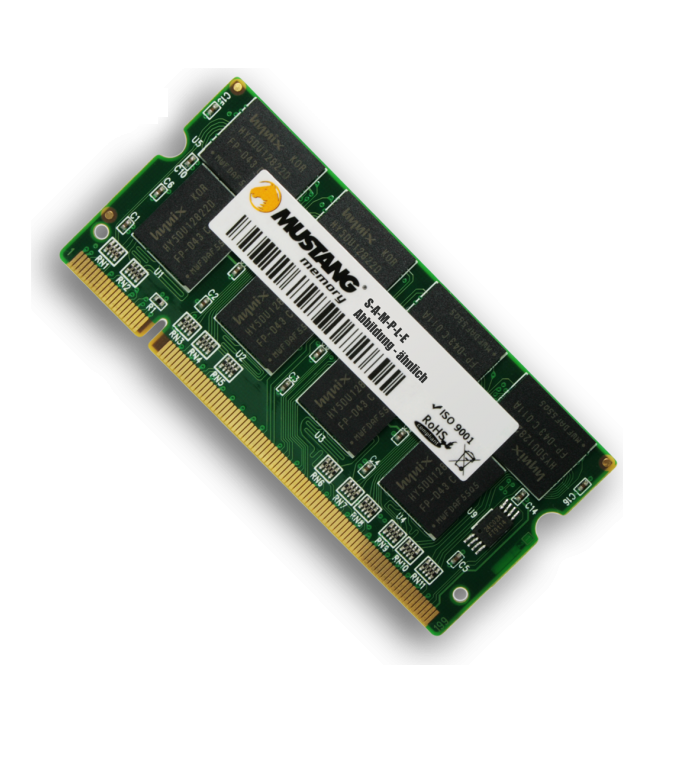 Mustang 4GB DDR3-1600 CL11 256Mx8 ECC DR TS LV 1,35V ServerLine 240-Pin UDIMM 1,35 V