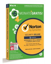 Symantec Norton Security Deluxe 3.0 5 Geräte 18 Monate, Win/Mac/Android/iOS, Deutsch (21382280)