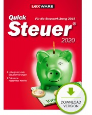 Lexware QuickSteuer 2020 Download Win, Deutsch