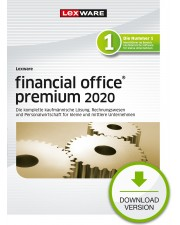 Lexware financial office 2020 premium 1 Jahr  5 Lizenzen Download Win, Deutsch