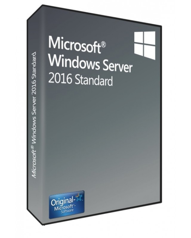 Microsoft Windows Server 2016 Standard 16 Core SB/OEM, Englisch