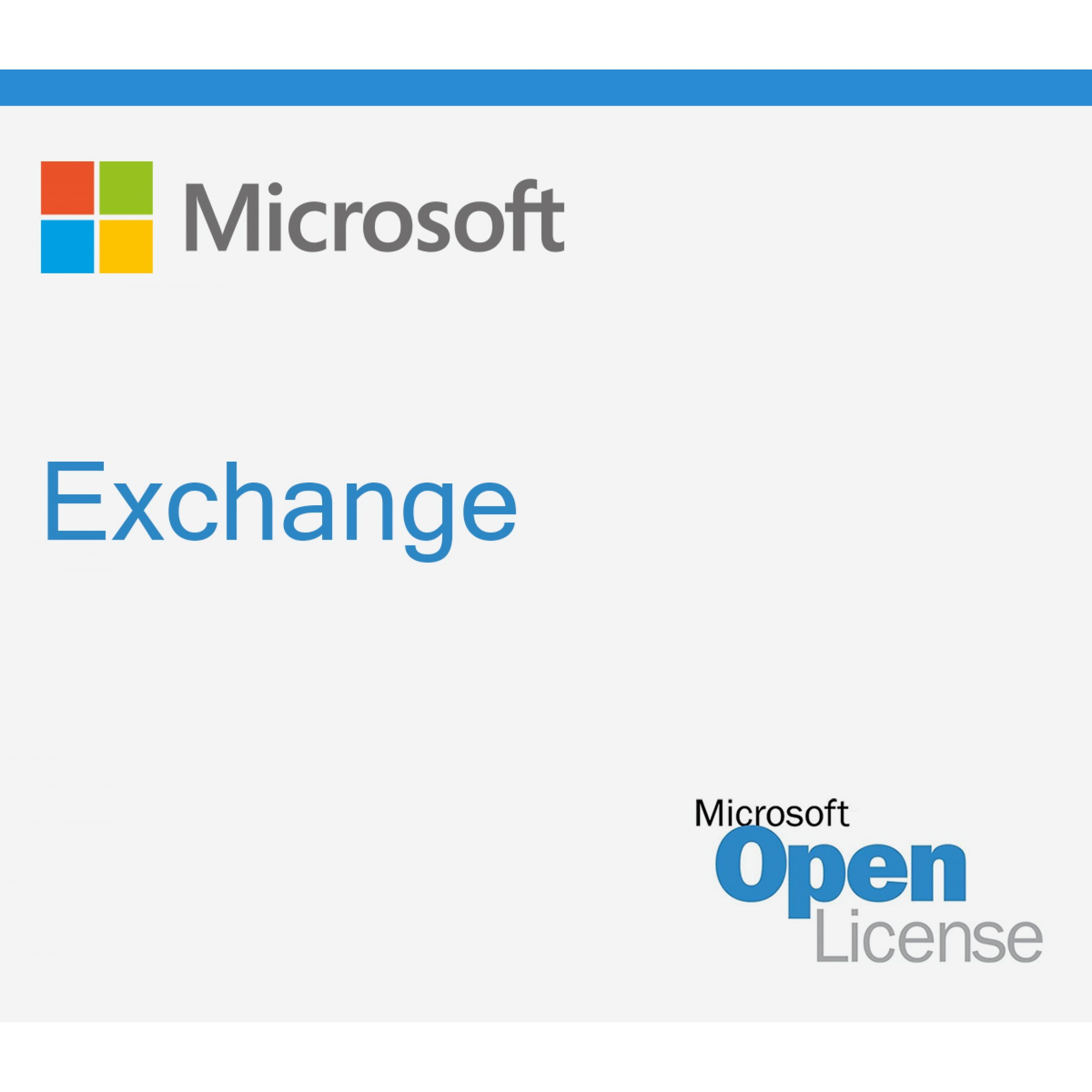 1 Device-CAL Microsoft Exchange Server 2019 Standard CAL Lizenz, Open License