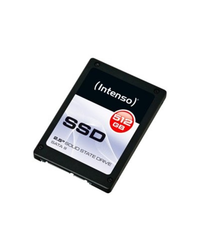 "Intenso SSD Solid-State-Disk 512 GB TOP Performance intern 2.5"" SATA 600 6Gb/s"