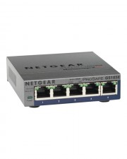 Netgear ProSafe Plus Switch nicht verwaltet Gigabit 5 Port 1000MBit/s Desktop