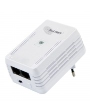 ALLNET PowerLine Netzwerkadapter 500 Mbps Homeplug AV 300 Wireless N Access Point 2x RJ45 10/100Mbit 3.6 W (ALL1682511V2)