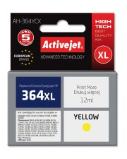 Activejet AH-364YCX Dye-sublimation ink Gelb HP 1 Stücke printing Hohe XL- Ausbeute Tintenpatrone ACTIVEJET Refill für 364XL yellow (EXPACJAHP0158)
