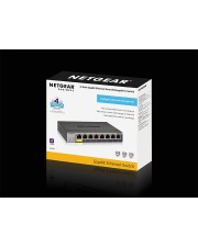 Netgear Switch 8x GE POE 1 Gbps 8-Port Power over Ethernet Managed