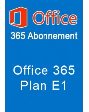 Microsoft Office 365 Plan E1 1 Jahr Abonnement Open License (Q4Y-00003)