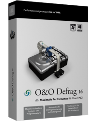 O&O Defrag 16 Professional 1 User Download Win, Deutsch (P06362-01)