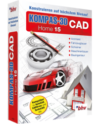 bhv KOMPAS-3D CAD Home 15 Download Win, Deutsch (P11524-01)