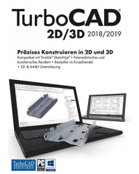 TurboCAD 2D/3D 2018 Download Win, Deutsch (P26015-01)