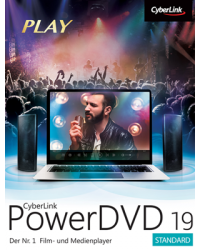 Cyberlink PowerDVD 19 Standard Download Win, Deutsch