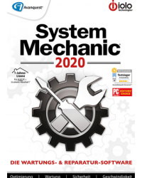 iolo System Mechanic 2020 Download Win, Deutsch (P26328-01)