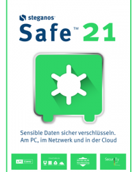 Steganos Safe 21 Download Win, Deutsch