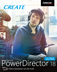 CyberLink PowerDirector 18 Ultra Download Win, Deutsch (P26410-01)