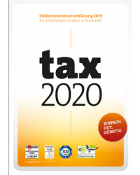 WISO tax 2020 Standard für Steuerjahr 2019 Download Win, Deutsch