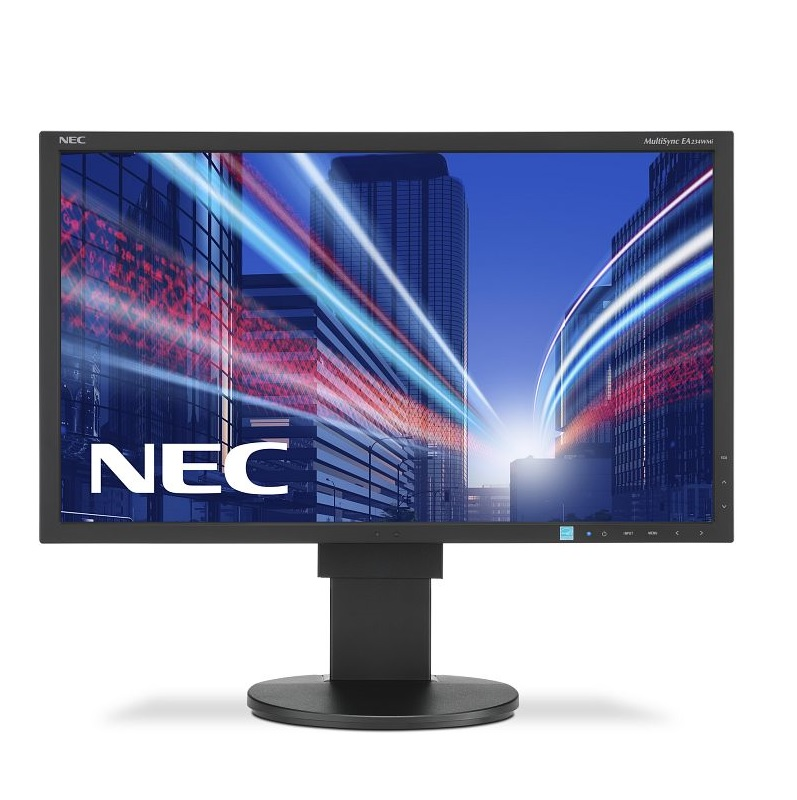 "NEC Display MultiSync EA234WMi LED-Monitor 58.4cm/23"" IPS 6 ms Schwarz EEK: A"