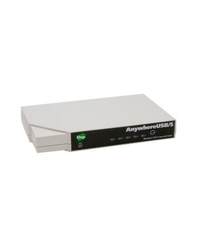 Digi International AnywhereUSB /5 with Multi-Host Connections Terminalserver USB 100Mb LAN