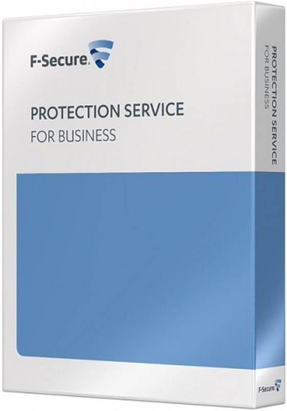 F-Secure Protection Service for Business, Server Security, License, inkl. 1 Jahr Support und Maintenance, Download, Lizenzstaffel, Win/Lin, Multilingual (1-24 User)
