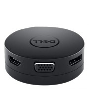 Dell Mobile Adapter DA300 Docking Station USB-C GigE VGA Schwarz