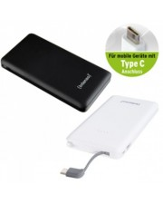 Intenso Powerbank Slim S10000-C 10000 mAh silber Batterie Micro AAA 5 V (7332632)