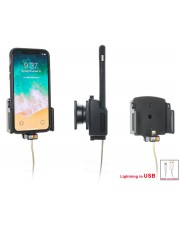 Brodit Handy/Smartphone Passive Halterung Auto/Innenbereich Schwarz Holder for Cable Attachment