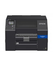 Epson C6500Pe 8in Wide Peeler Colour Drucker Farbig USB 2.0 Ethernet (C31CH77202)