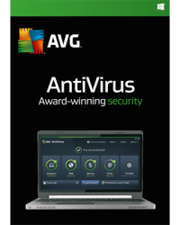 AVG AntiVirus 2016 3 PCs 1 Jahr Download Win, Deutsch