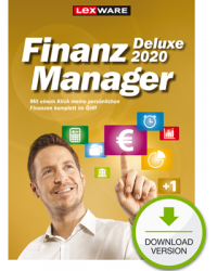 Lexware FinanzManager 2020 Deluxe Download Win, Deutsch