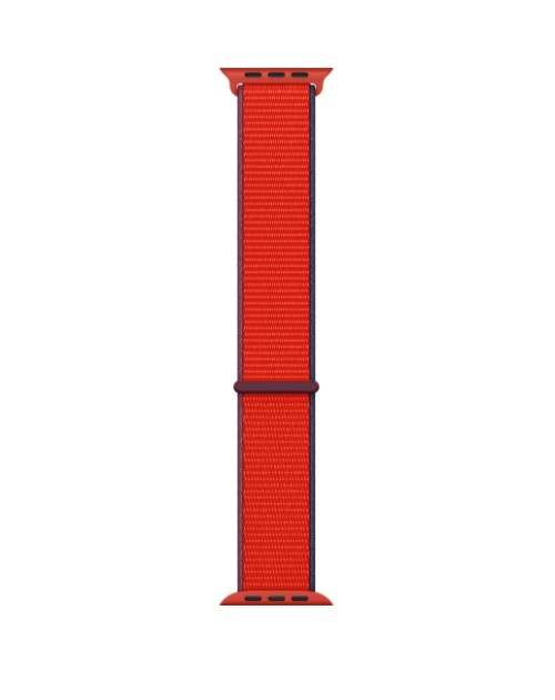 Apple 44mm PRODUCT RED Sport Loop Rot