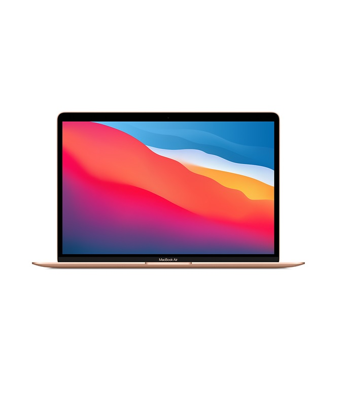 "Apple MacBook Air M1 8-Core 256 GB SSD 8GB RAM 33,78 cm 13,3 "" WQXGA 2560x1600 Mac OS Gold"
