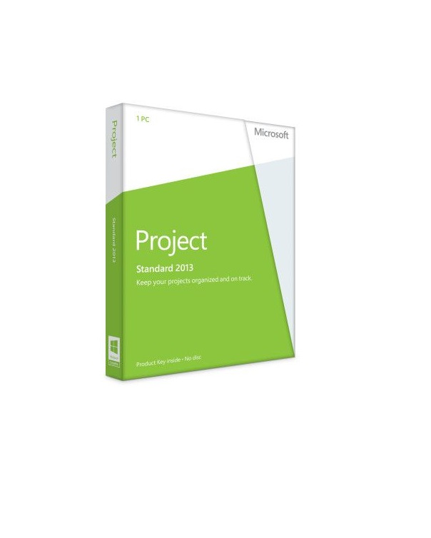Microsoft Project 2013 Standard PKC, Deutsch