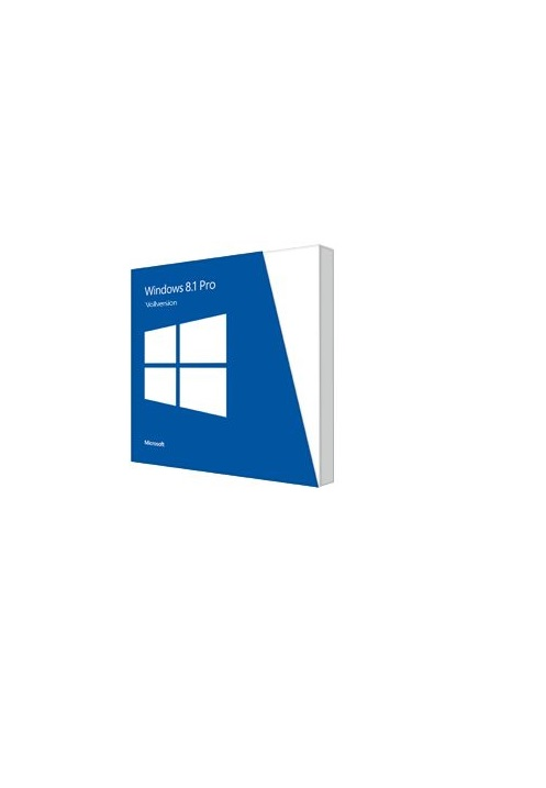 Microsoft Windows 8.1 Pro 32bit Vollversion DVD SB, Englisch (FQC-06987)