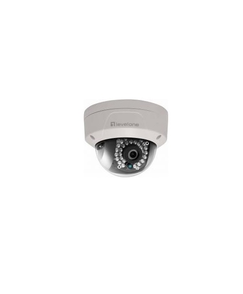 "LevelOne IP security camera Innen & Außen Kuppel Weiß Sicherheitskamera 5 MP 2560 x 1920 1/3"" CMOS PoE IP66"