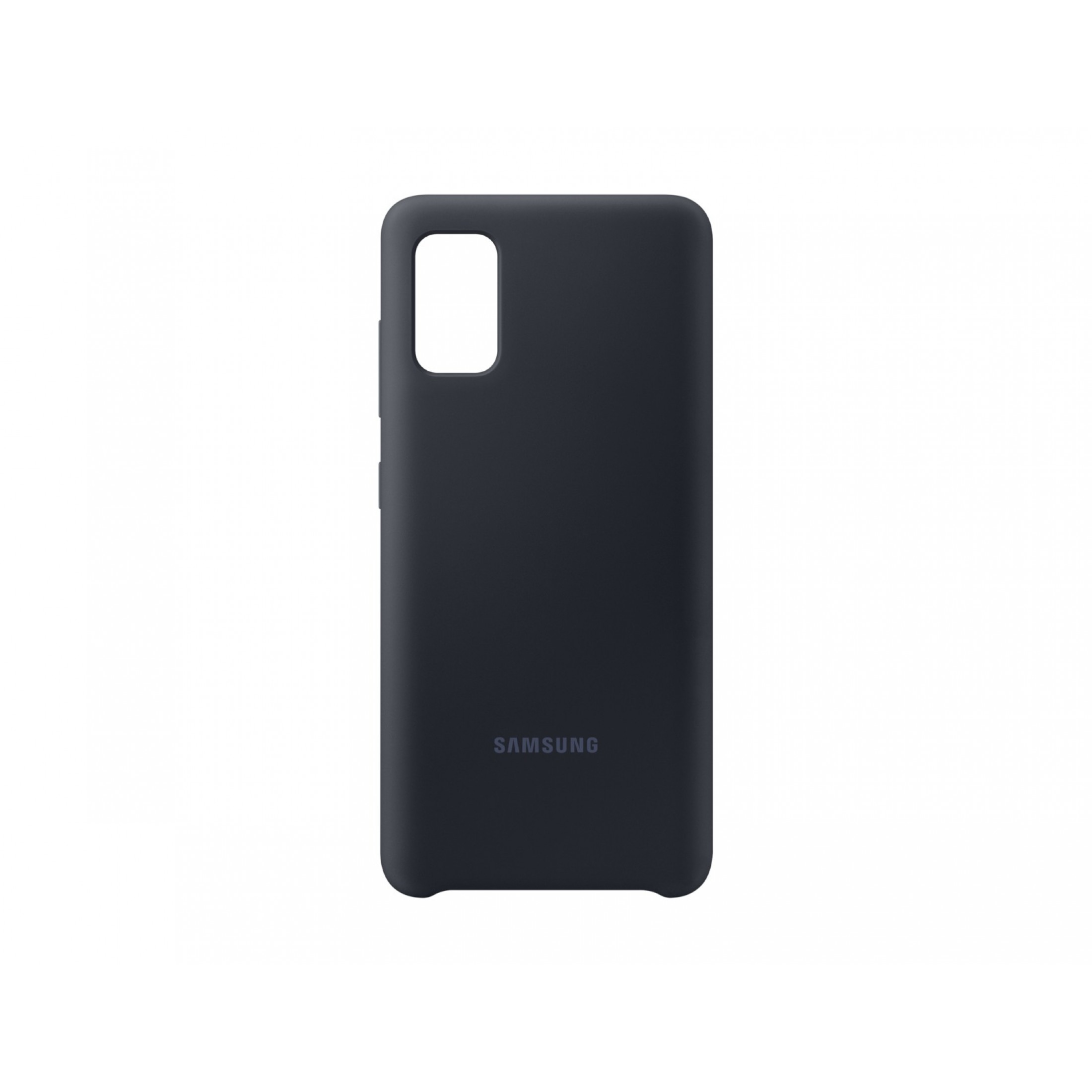 Samsung Silicon Cover Galaxy A41 Black Schwarz