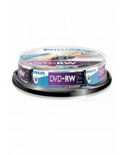 Philips DN4S4B10F 10 x DVD-RW 4.7 GB 120 Min. 1x 4x Spindel