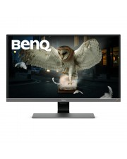 BenQ EW3270UE 80 cm 31.5 Zoll 3840 x 2160 Pixel 4K Ultra HD 4 ms Grau VA LED 2Wx2 HDMI DisplayPort USB Type-C 90-264V 76W 522 x 726.4 x 215 mm 7500 g EEK: B