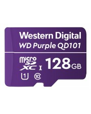 WD Purple 128GB Surveillance microSD XC Class 10 UHS 1 Flash-Speicher unsortiert (WDD128G1P0C)