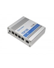 Teltonika 5 Port Gigabit Industrial unmanaged POE Switch 1 Gbps Power over Ethernet Unmanaged